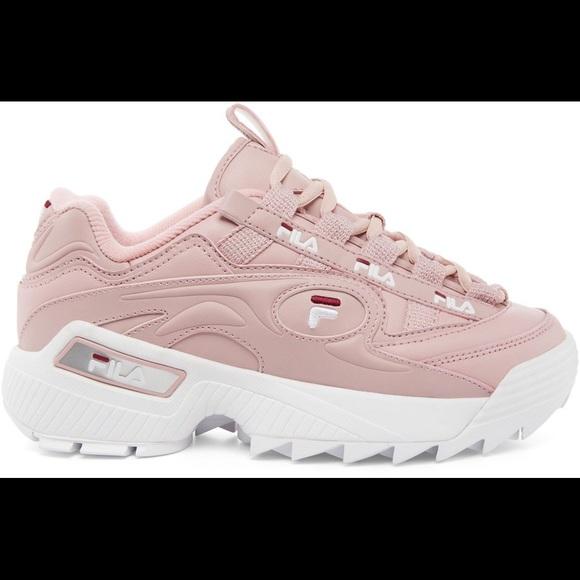 Fila Shoes | Pink Filas | Poshmark